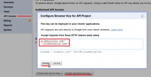 Creando una API Key desde Google APIs Console