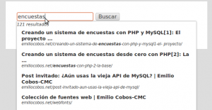 Demo del uso de la API Google Custom Search